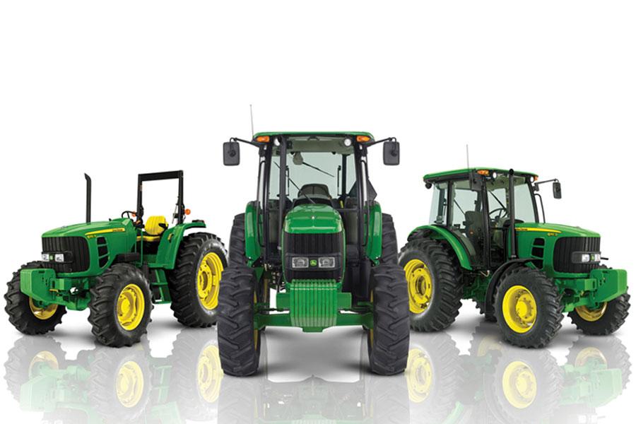 Distintos tipos de tractores
