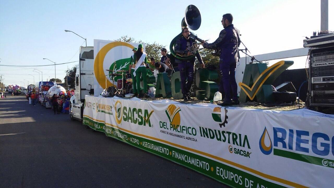 Presente SACSA en el Carnaval Navolato 2017