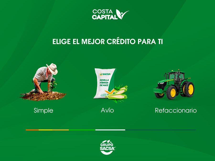 Costa capital – Créditos para tu campo