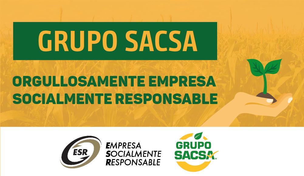 Grupo Sacsa Orgullosamente Empresa Socialmente Responsable