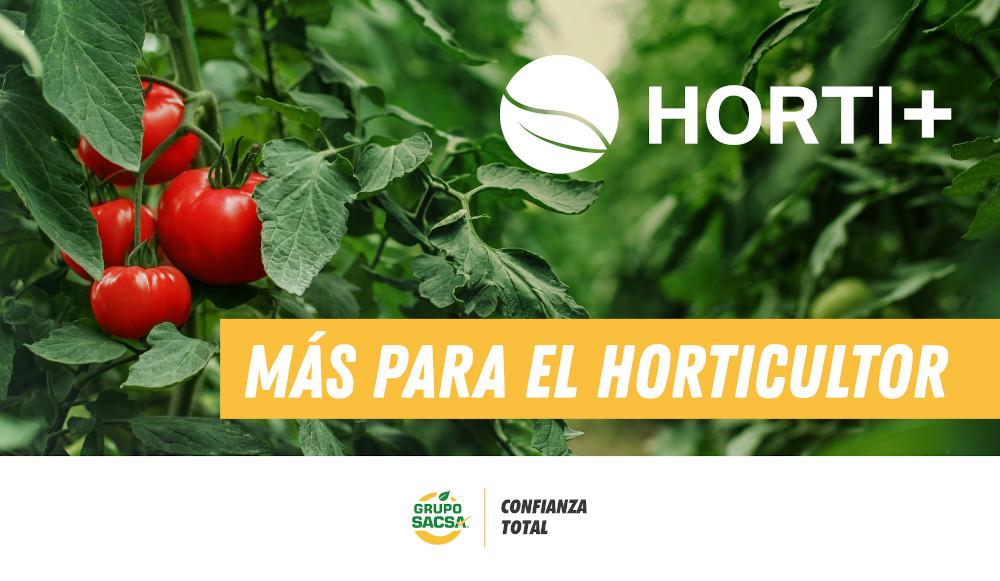 Más para el Horticultor, Horti+