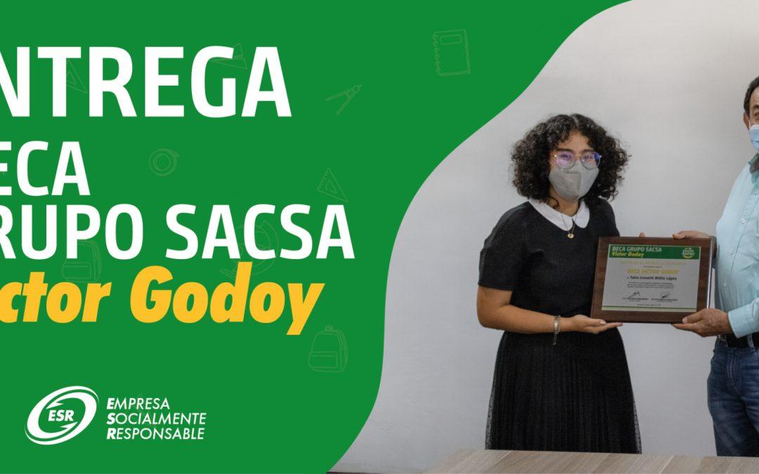 """GRUPO SACSA ENTREGA BECA """"GRUPO SACSA-VÍCTOR GODOY»"""